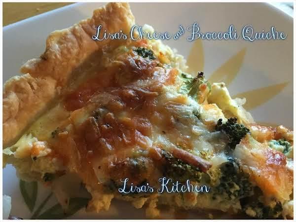 Lisa's Cheese & Broccoli Quiche Recipe