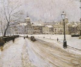 "Photo: Paul Maze, ""Whitehall in inverno"" (1920)"