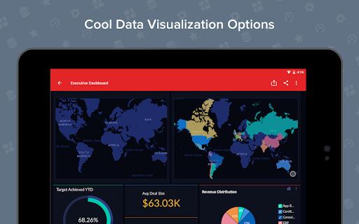 Zoho Analytics – Mobile BI Dashboards screenshot 13
