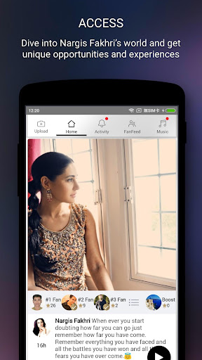 Nargis Fakhri Official App screenshot 2