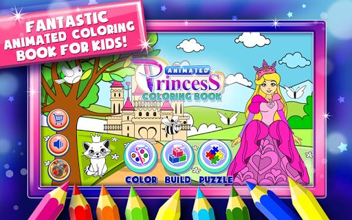 Princess Coloring Book Games  screenshots 1