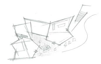 Photo: Karuizawa Museum Complex - Sketch  Plan