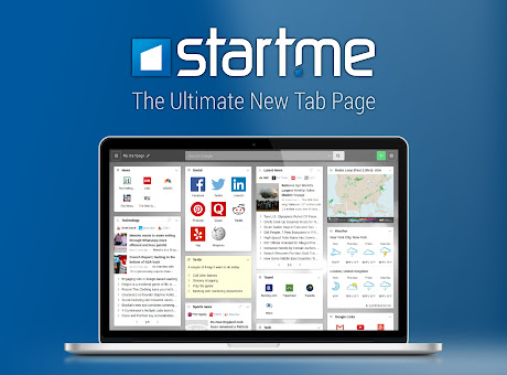New tab page by start.me