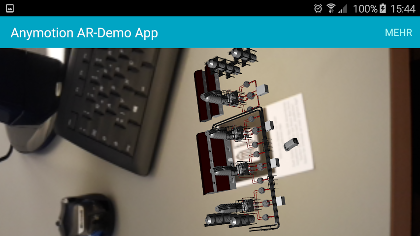 android AnyMotion AR-App Screenshot 2
