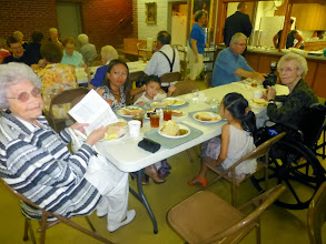 Photo: Afterwards, we joined the family at the St John Lutheran Church for the reception