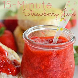 15-Minute Strawberry Jam.
