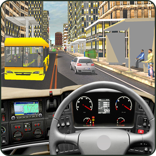 Real Coach Bus Parking Driving School 3D Simulator