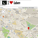 Lahore map icon