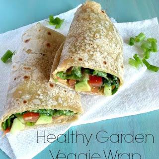 Healthy Garden Veggie Wrap Vegan GF and SoyFree Recipe