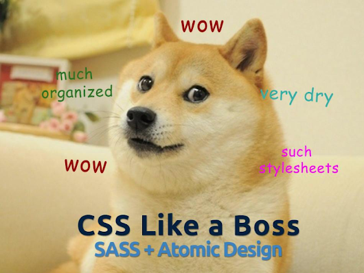 SASS / Atomic Design