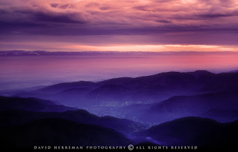 """Photo: Vosges in Frnace, from the """"Grand Ballon"""" (1424m)."""