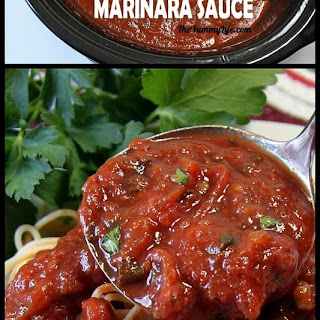 Marinara Sauce in A Slow Cooker