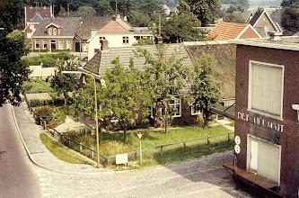Photo: Blik in Eext, boven op de melkfabriek