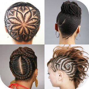 Peachy Cornrow Hairstyles Android Apps On Google Play Hairstyles For Women Draintrainus
