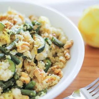 Roasted Summer Vegetable Quinoa Salad Recipe
