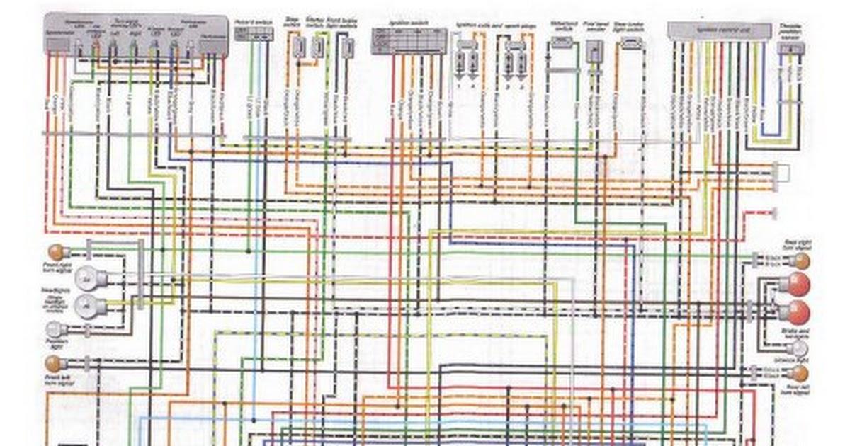 Wiring Diagram Suzuki Bandit 600 Group Electrical Schemes