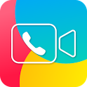 JusTalk - free video calls and fun video chat app icon