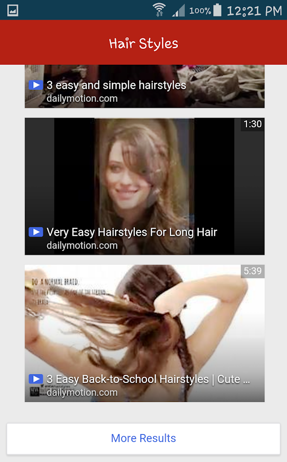 Hairstyle For School Easy Dailymotion : New girls hairstyles 2017 android apps on google play