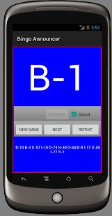 Bingo Announcer