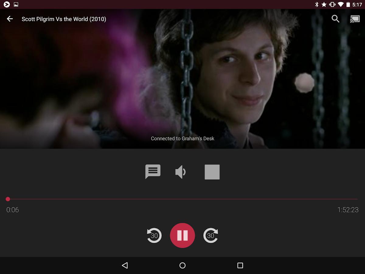Videostream Chromecast: Mobile - screenshot