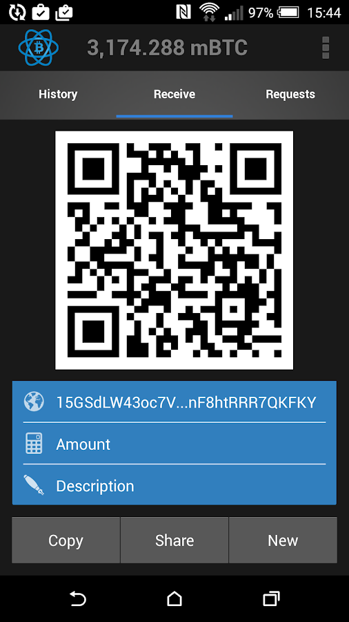 Electrum Bitcoin Wallet- screenshot