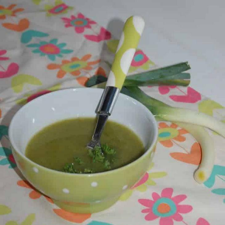 Monochrome Green Soup Recipe