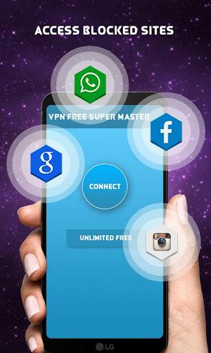 vpn free super master unblock 1.0 screenshots 3