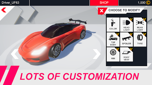 Velocity Legends - Crazy Car Action Racing Game screenshot 9
