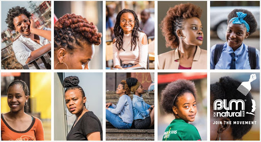 South African women supporting natural hair movement. Picture Credit: Supplied