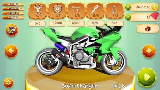 Code Triche Drag Bikes Online  APK MOD (Astuce) screenshots 2