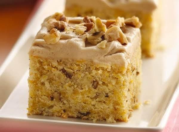 Buttery Butternut Squashed Cake Recipe