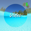 Paradise video wallpapers icon