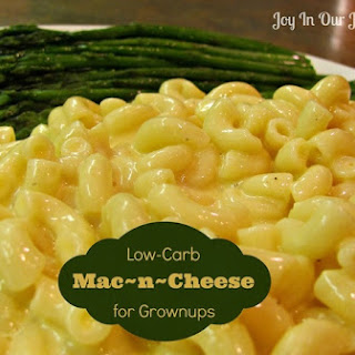 Low-Carb Mac 'n Cheese for Grownups