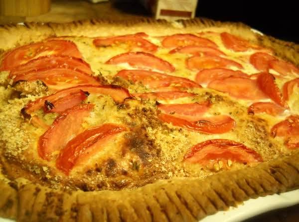 Parmesan And Prosciutto Quiche
