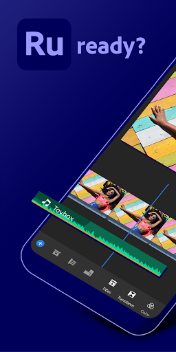 Adobe Premiere Rush u2014 Video Editor 1.5.25.653 Screenshots 1