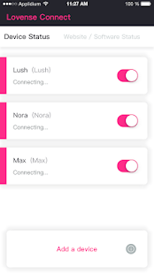 Lovense Connect - náhled