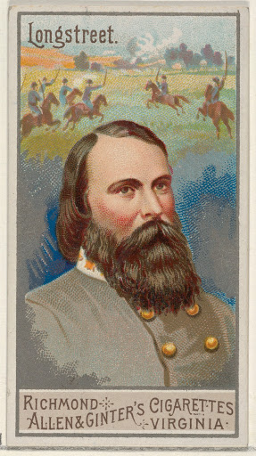 James Longstreet, from the Great Generals series (N15) for Allen & Ginter Cigarettes Brands