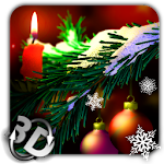 Christmas in HD Gyro 3D Icon