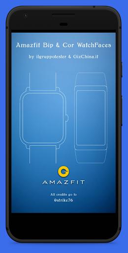 Amazfit Bip / Lite & Cor WatchFaces screenshot 2