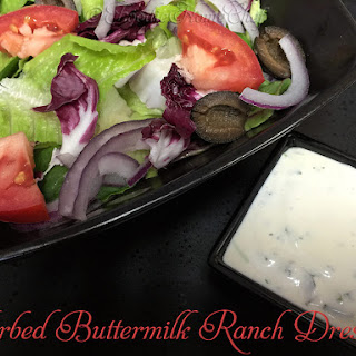 Herbed Buttermilk Ranch Dressing.