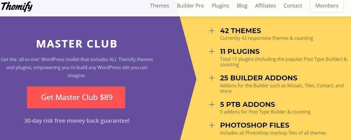 20+ Marketplace Terbaik Untuk Membeli Template WordPress Premium Redstrixcom