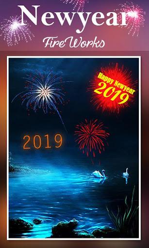 2019 New Year Fireworks Live Wallpaper 1.0.10 screenshots 4