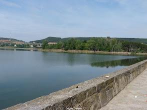 Photo: Retenue d'eau de la Grajear