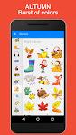 screenshot of Seasonal Sticker Pack