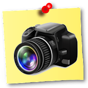NoteCam Pro - photo with notes [GPS Camera]  Icon