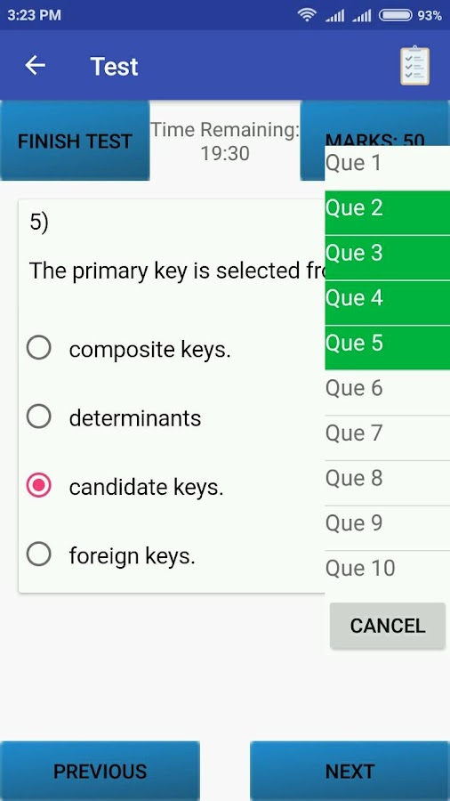 ICES Study App- screenshot