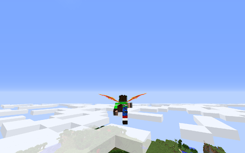 Wings Mod for Minecraft MCPE - náhled