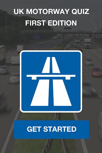 UK Motorway Quiz First Edition
