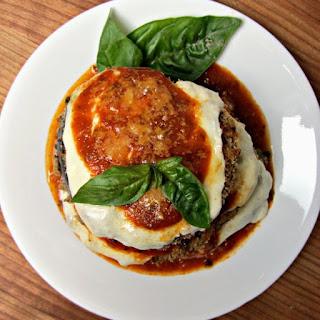 Skinny Eggplant Parmigiana