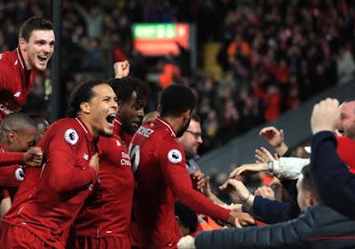 Les supporters de Liverpool perdus à Gand invités pour un match ... et pas n'importe lequel
